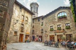 Rupit, medieval spanish village Royalty Free Stock Photos