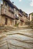 Rupit, medieval spanish village Stock Images