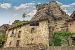 Rupit, medieval spanish village Stock Image