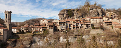 Rupit Panorama Royalty Free Stock Photo