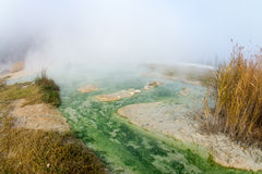Rupite in Bulgaria, a hot water bath Royalty Free Stock Image