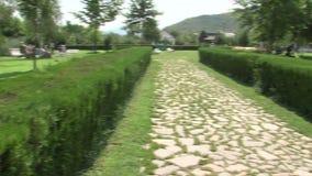 Rupite. The road to Vanga, Bulgaria stock video footage