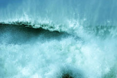 Rupteurs balayés par le vent Photographie stock libre de droits