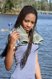 Ruptura 4 da água fotografia de stock royalty free