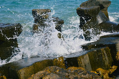 Ruptura da água Fotografia de Stock Royalty Free