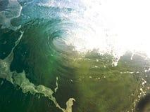 Ruptura da costa Imagens de Stock Royalty Free