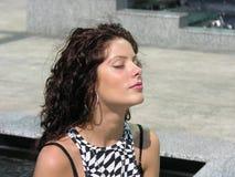 Ruptura da meditação Imagem de Stock Royalty Free