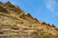Ruptura da montanha Fotografia de Stock