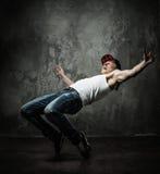 Ruptura-dança do homem imagem de stock royalty free