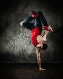 Ruptura-dança do homem fotografia de stock
