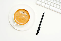 Ruptura de café. Imagens de Stock