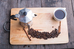 Ruptura de café Fotos de Stock Royalty Free
