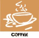 Ruptura de café do Grunge imagens de stock royalty free