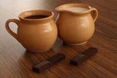 Ruptura de café doce Foto de Stock Royalty Free