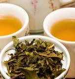 A ruptura de chá exterior mostra refresca refrescado e chás fotos de stock