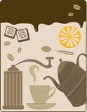 Ruptura de Coffe Fotografia de Stock Royalty Free