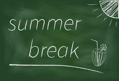 Ruptura de verão Imagens de Stock Royalty Free