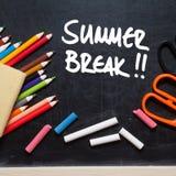 Ruptura de verão fotos de stock