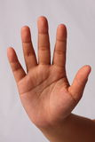 Ruptura do batente do sinal da mão lenta Imagem de Stock Royalty Free
