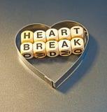 Ruptura do coração imagem de stock royalty free