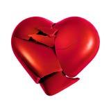 Ruptura do coração imagens de stock royalty free