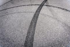 Ruptura do pneu Foto de Stock Royalty Free