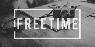 Ruptura Harmony Relaxation Concept emancipada da liberdade do tempo livre Imagem de Stock