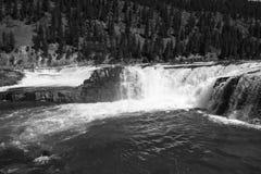 Ruptura no rio Fotografia de Stock