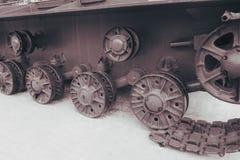 Ruptura no tanque imagens de stock royalty free