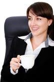 Ruptura para a mulher de negócios Imagens de Stock Royalty Free