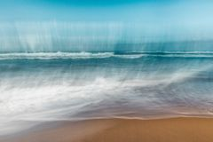 Rupturas abstratas da onda, borradas filtrando o movimento foto de stock
