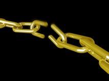 Rupture à chaînes illustration de vecteur