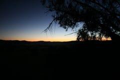 Rupture de l'aube Photo libre de droits