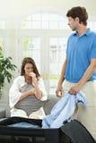 Rupture des couples Image libre de droits