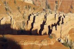 Ruptures de cèdre Image stock