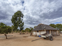 Rural African Homestead Royalty Free Stock Photography