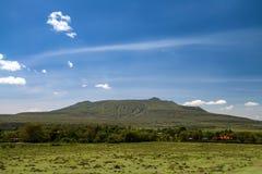 African scenic rural view in Kenya Royalty Free Stock Image