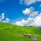Rural alpine scenery Royalty Free Stock Photos
