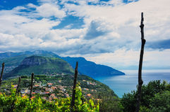 Rural Amalfi coast Royalty Free Stock Photography