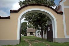 Rural architecture, Bakonybel, Hungary Stock Photos
