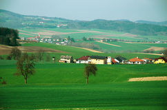 Rural area in Austria Royalty Free Stock Photography
