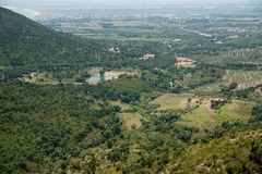 Rural area Costa Brava Catalonia Spain Royalty Free Stock Photos