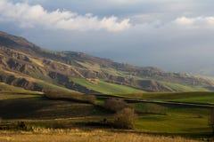 Rural area in the marche region Stock Image