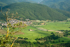 Rural area north Spain royalty free stock photos