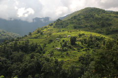 Rural area outside Ghandruk, Nepal Stock Photography