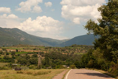 Rural area Pyrenees Catalonia Spain Royalty Free Stock Photography