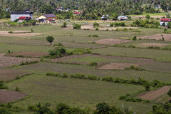 Rural area in southern Cambodia Royalty Free Stock Images