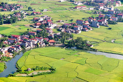 Rural area in Vietnam Royalty Free Stock Photography