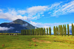 Rural areas in the Chilean Patagonia Stock Photos