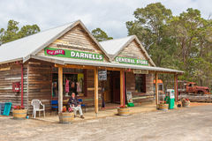 Rural Australian General Store Royalty Free Stock Photo